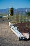 Consiga sus retrocesos en la muestra de Route 66 imagen de archivo