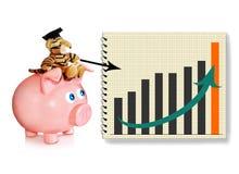 Consigliere finanziario fotografia stock