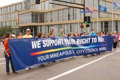 Consiglio di città di Minneapolis Fotografie Stock Libere da Diritti