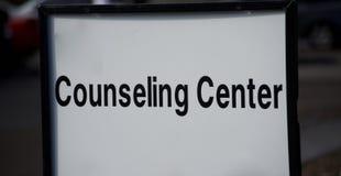 Consiglio e centro di Pyschotherapy fotografie stock