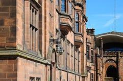 Consiglio Housae di Coventry e cattedrale immagine stock libera da diritti
