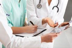 Consiglio medico Fotografia Stock