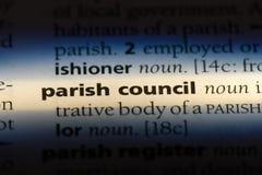 consiglio pastorale immagine stock libera da diritti