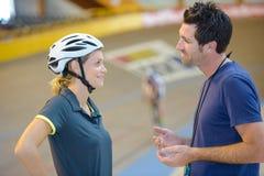 Consiglio per il nuovo ciclista fotografia stock