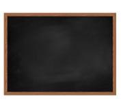 Consiglio scolastico sporco in bianco. Fotografia Stock Libera da Diritti