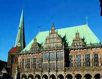 Consistorio en Bremen foto de archivo