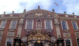 Consistorio, Worcester, Inglaterra fotografía de archivo libre de regalías