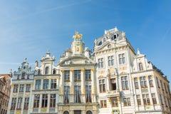 Consistorios en Grand Place en Bruselas, Bélgica Fotografía de archivo libre de regalías