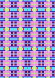 the pattern of variation box full color stock photography