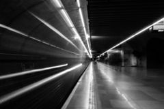 Consolação-U-Bahnstation, Sao Paulo, Brasilien stockfoto