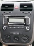 Consola de centro del coche Imágenes de archivo libres de regalías