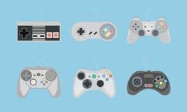 Consola de control para el videojuego Fotografía de archivo libre de regalías