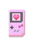 Consola de los juegos del pixel Fotos de archivo libres de regalías