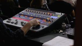 Consola de los sonidos de Digitaces metrajes