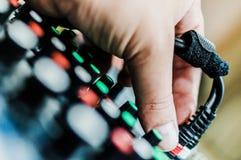 Consola de mezcla DJ fotografía de archivo libre de regalías