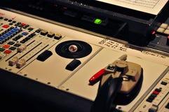 Consola de mezcla en Abbey Road Studios, Londres Fotos de archivo