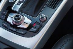 Consola de radio en coche imagen de archivo libre de regalías