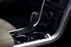 Consola del coche imagen de archivo