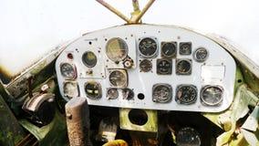 Consola del pequeño avión foto de archivo libre de regalías