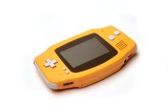 Consola portable del juego de ordenador Fotografía de archivo
