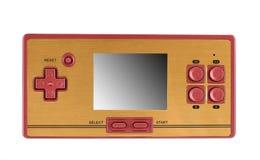 Consola portable del juego video foto de archivo