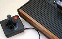Consola retra del juego video Imagen de archivo