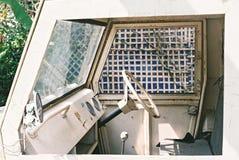 Consola vieja del coche Foto de archivo libre de regalías