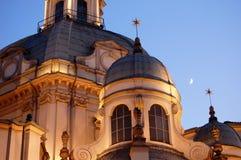 Consolata baroque church detail Royalty Free Stock Photography