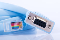 Console cable rj45 Stock Images