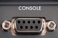 Console Connector Royalty Free Stock Image