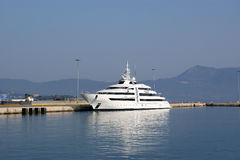 Console Corfu, mar Ionian, Greece Imagens de Stock Royalty Free