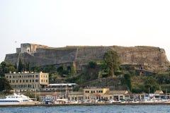 Console Corfu, mar Ionian, Greece Imagem de Stock Royalty Free