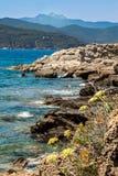 Console da Ilha de Elba, Toscânia, Itlay Fotografia de Stock Royalty Free