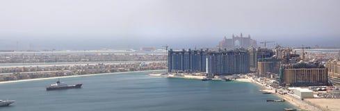 Console da palma de Dubai Fotos de Stock Royalty Free
