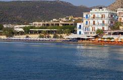 Console de Aigina em Greece fotografia de stock royalty free