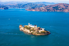 Console de Alcatraz fotografia de stock royalty free