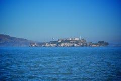 Console de Alcatraz em San Francisco Fotografia de Stock