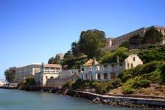 Console de Alcatraz, San Francisco imagens de stock royalty free