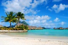 Console de Bora Bora Fotografia de Stock