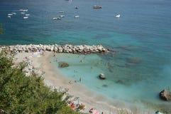Console de Capri Fotografia de Stock Royalty Free