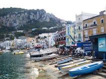Console de Capri em Italy Fotografia de Stock
