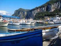 Console de Capri em Italy Foto de Stock Royalty Free