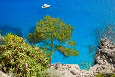 Console de Capri, Italy Fotos de Stock Royalty Free