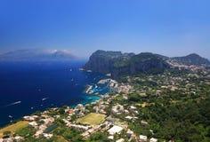 Console de Capri, Italy foto de stock royalty free