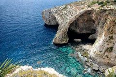 Console de Comino, Malta Imagens de Stock