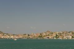 Console de Cunda, Ayvalik, Turquia Fotos de Stock Royalty Free