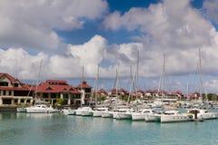 Console de Eden, Seychelles Foto de Stock Royalty Free