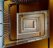 Console de Ellis da escadaria Fotos de Stock Royalty Free