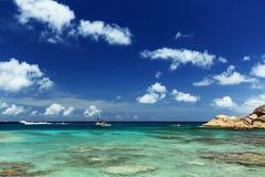 Console de Felicite. Seychelles fotos de stock royalty free