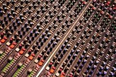 Console de mélange chez Abbey Road Studios, Londres Image stock